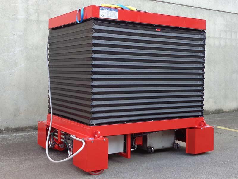 Piattaforma Elettroidraulica Mobile