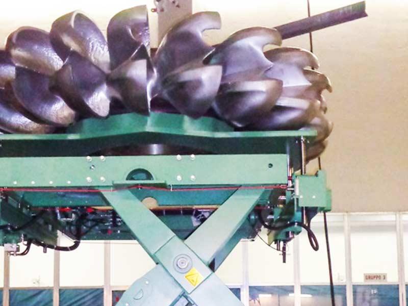Sollevamento Turbine